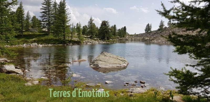 Lacs valscura, Lacs de Terres rouges, Lac de Tavel, Terres d\'émotions, Randonnée 06