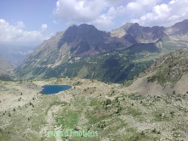 Terres d'émotions, randonnée Italie, Santa anna di vinadio, Lacs de montagne