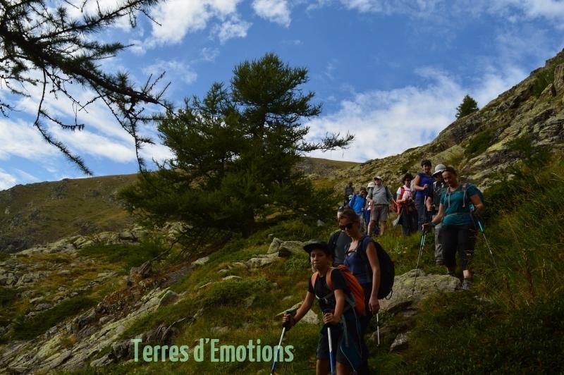 Lacs Morgons, Camp des fourches, Vallée de la Tinée, Terres d'émotions, Randonnée dans le 06, Bousieyas