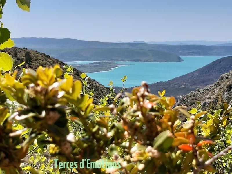 Moustiers Ste Marie, Lac de Sainte Croix, Gorges du Verdon, Terres d'émotions, Randonnées dans le 83.