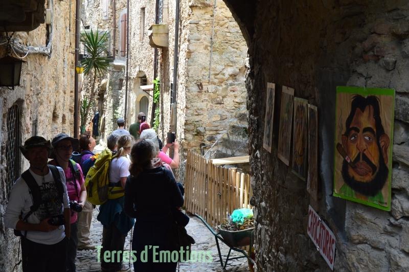 Bussana Vecchia, Italie, Ligurie,  Terres d'émotions