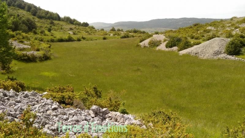 Bezaudun, sommet du Vériou, Terres d'émotions, Randonnée dans le 06