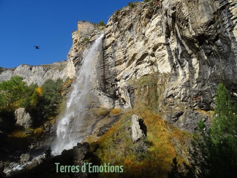 Sources du Var, Terre sd'émotions, entraunes, Estenc, Cascade, randonnée dans le 06