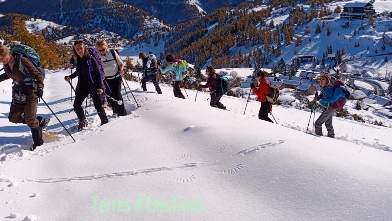 Tête de Garnier, Beuil Les launes, Col de l'espaul, terres d'émotions, randonnée dans le 06, raquettes à neige