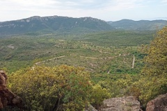 Perthus Occidental, Esterel, Col de belle barbe, Terres d'émotions, Randonnée dans le 06