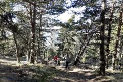 Les terres rouges, Belvédère, Serre de claperuole, Terres d'émotions, randonnée dans le 06, Vallon de Graus