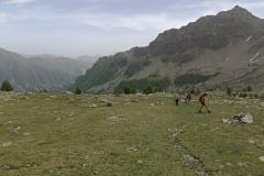 Col de la braisse, Vallon de sanguinerette, terres d'émotions, randonnées dans le 06